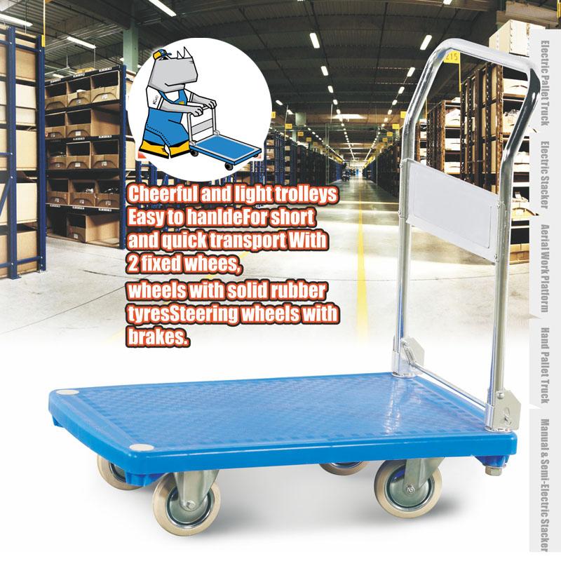 Plastic Trolley 200kg