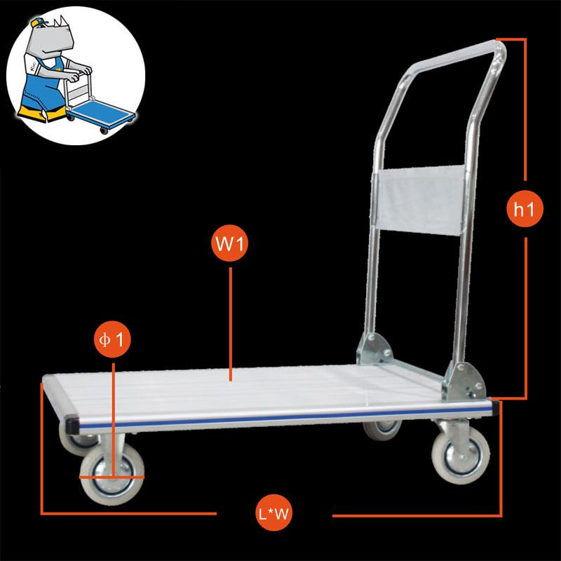 Aluminium Trolley 150Kg